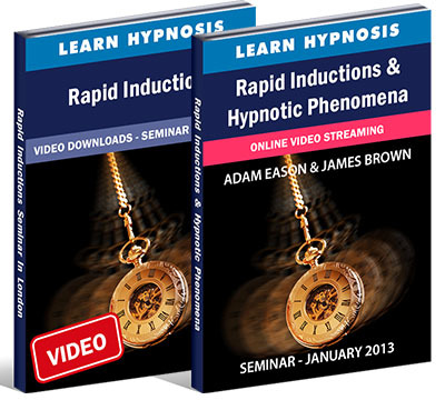 Rapid Inductions For Hypnotherapists - London and Bournemouth Seminars
