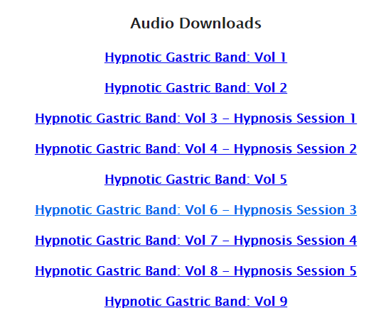 Audios In Gastric programme